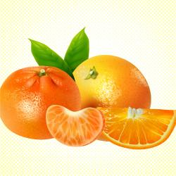 naranja - mandarina